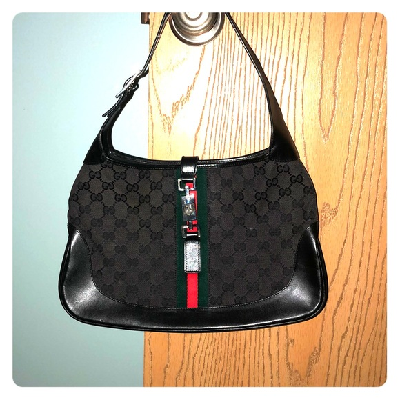 Gucci Handbags - Gucci Monogram Jackie O Hobo